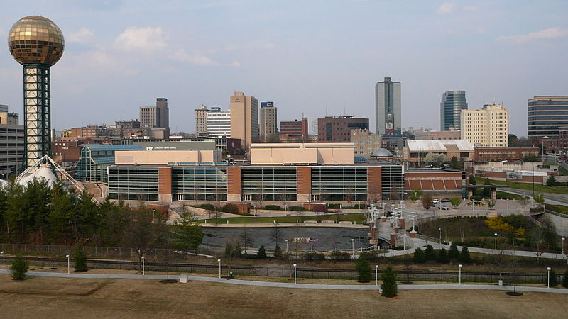 Downtown Knoxville Tennessee Skyline