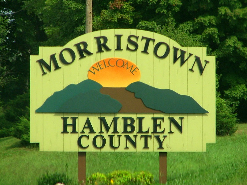 Morristown Tennessee Welcome Sign